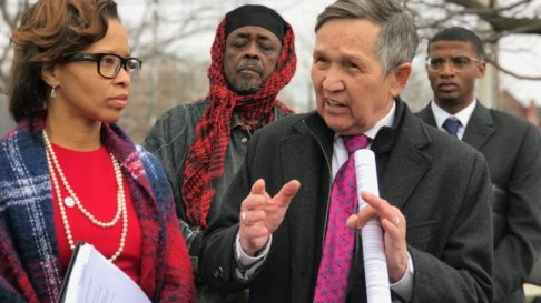 Ohio_Tara Samples and Dennis Kucinich